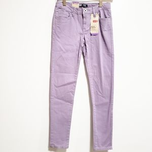 LEVI'S Girl Sateen Legging Purple Lilac Regular